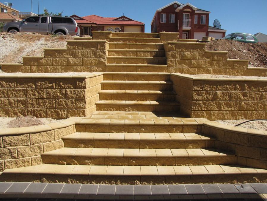 Staircases noble landscapes landscape design adelaide for Landscape architecture adelaide